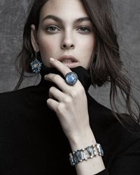 Stephen Dweck | Pavé London Blue Topaz & Moonstone Cabochon Ring | Lyst