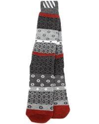 Off-White c/o Virgil Abloh - Multicolor Jacquard Socks - Lyst