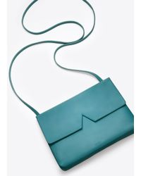 VINCE | Green Signature Collection Baby Crossbody | Lyst