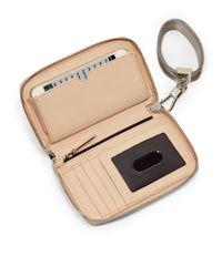 Elizabeth and James - Natural Smartphone Bracelet Wallet - Lyst