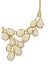 BaubleBar | Natural Ivory Dew Drop Bib | Lyst