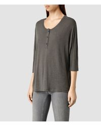 AllSaints | Natural Harley Tee | Lyst