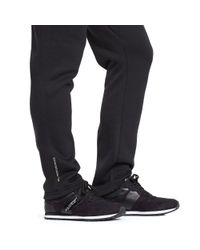 Ralph Lauren | Black Cotton-blend-fleece Pant for Men | Lyst