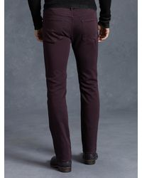 John Varvatos - Purple Cotton Bowery Jean for Men - Lyst