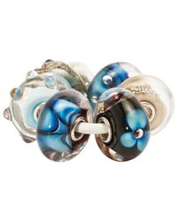 Trollbeads | Blue Traces Glass Bead | Lyst