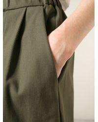 Hache | Green High Waist Shorts | Lyst
