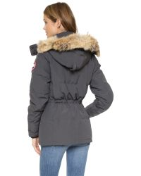 Canada Goose - Gray Chelsea Parka - Graphite - Lyst