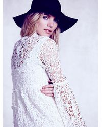 Free People - White Annabelle Dress - Lyst