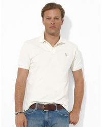 Polo Ralph Lauren - Natural Classic-fit Cotton Mesh Polo for Men - Lyst