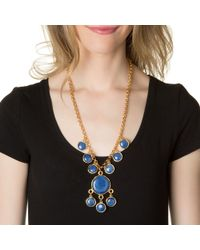 Kenneth Jay Lane | Blue Dots Necklace | Lyst