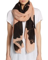 BCBGeneration | Pink Tie-dye Woven Scarf | Lyst