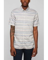 Vans | Blue Drexler Button Down Shirt for Men | Lyst