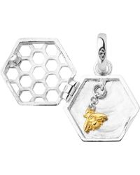 Links of London | Metallic Sweeter Than Honey Sterling Silver Locket Charm - For Women | Lyst