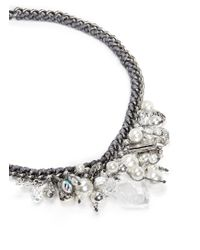 Venessa Arizaga - Metallic 'ready To Party' Necklace - Lyst