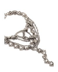 Forever 21 - Metallic Southwestern-inspired Hand Chain - Lyst