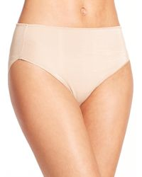 Tc Fine Intimates | Natural Microfiber High-cut Briefs | Lyst