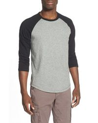 Lucky Brand | Blue Baseball T-shirt for Men | Lyst