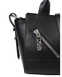 KENZO | Black Mini Kalifornia Smooth Leather Bag | Lyst