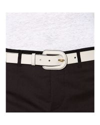 Marni | White Leather Belt | Lyst