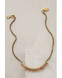 Lena Bernard | Metallic Shimmer-swept Necklace | Lyst