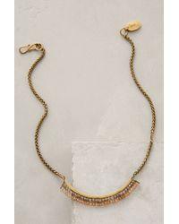 Lena Bernard - Metallic Shimmer-swept Necklace - Lyst