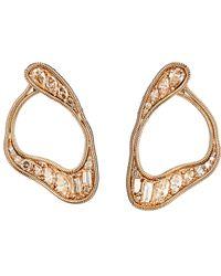 Fernando Jorge - Metallic Women's Stream Loop Earrings - Lyst