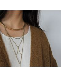 Jenny Bird | Metallic Neith Necklace | Lyst