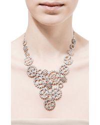 Wilfredo Rosado - Metallic 18k White Gold Multi-cog Necklace - Lyst