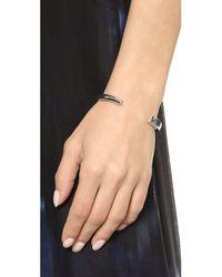 Elizabeth and James | Metallic Serra Cuff Bracelet - Silver | Lyst