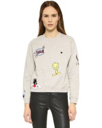 Paul & Joe - Gray Looney Tunes So Funny Sweatshirt - Lyst