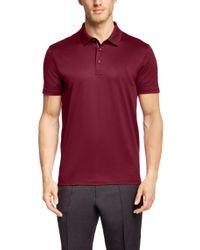 BOSS Red Regular-fit Polo Shirt 'genova 25' In Mercerised Cotton for men