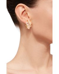 Bounkit | Convertible Quartz And Green Amethyst Earrings | Lyst