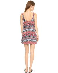 Tigerlily - Multicolor Boheme Dress - Rouge - Lyst