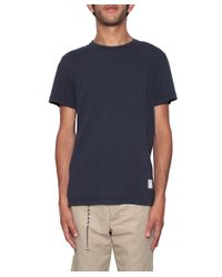 Saucony - Blue Cotton T-shirt for Men - Lyst