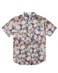 Engineered Garments - White Popover Button Down Shirt for Men - Lyst