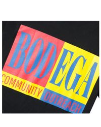 Bodega - Black Community Outreach Tee for Men - Lyst