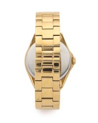 kate spade new york - Metallic Seaport Grand Watch - Gold - Lyst