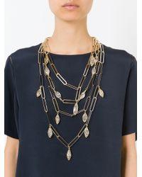 Rosantica - Metallic 'tiana' Necklace - Lyst