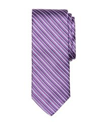 Brooks Brothers | Purple Rope Stripe Tie for Men | Lyst