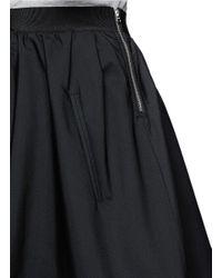 Acne Studios - Black 'romantic' Flare Skirt - Lyst