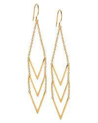 Gorjana | Metallic 'morrison' Drop Earrings | Lyst