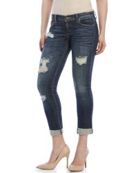 Eunina | Blue Relaxed Skinny Jeans | Lyst
