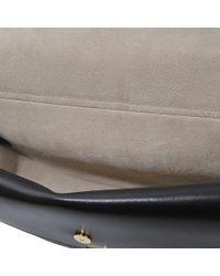 clhoe bags - small georgia bag in nappa lambskin \u0026amp; small grain calfskin