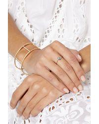 Ileana Makri - Metallic Leda 18-Karat Gold, Diamond And Sapphire Ring - Lyst