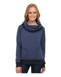Patagonia | Blue Reversible Double Knit Pullover | Lyst