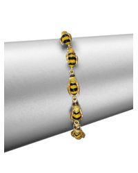 Delfina Delettrez - Metallic To Bee Or Not To Bee Bracelet - Lyst
