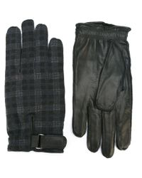 Orciani - Gray Contrast Gloves for Men - Lyst