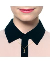 Lulu Frost - Metallic Code Number 14kt #0 Necklace - Lyst