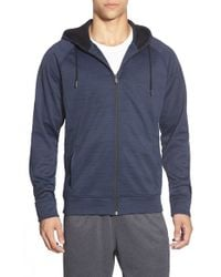 BPM Fueled by Zella | Blue 'celsian' Moisture Wicking Full Zip Running Hoodie for Men | Lyst