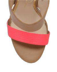 Jessica Simpson | Pink Romy Mule Sandals | Lyst